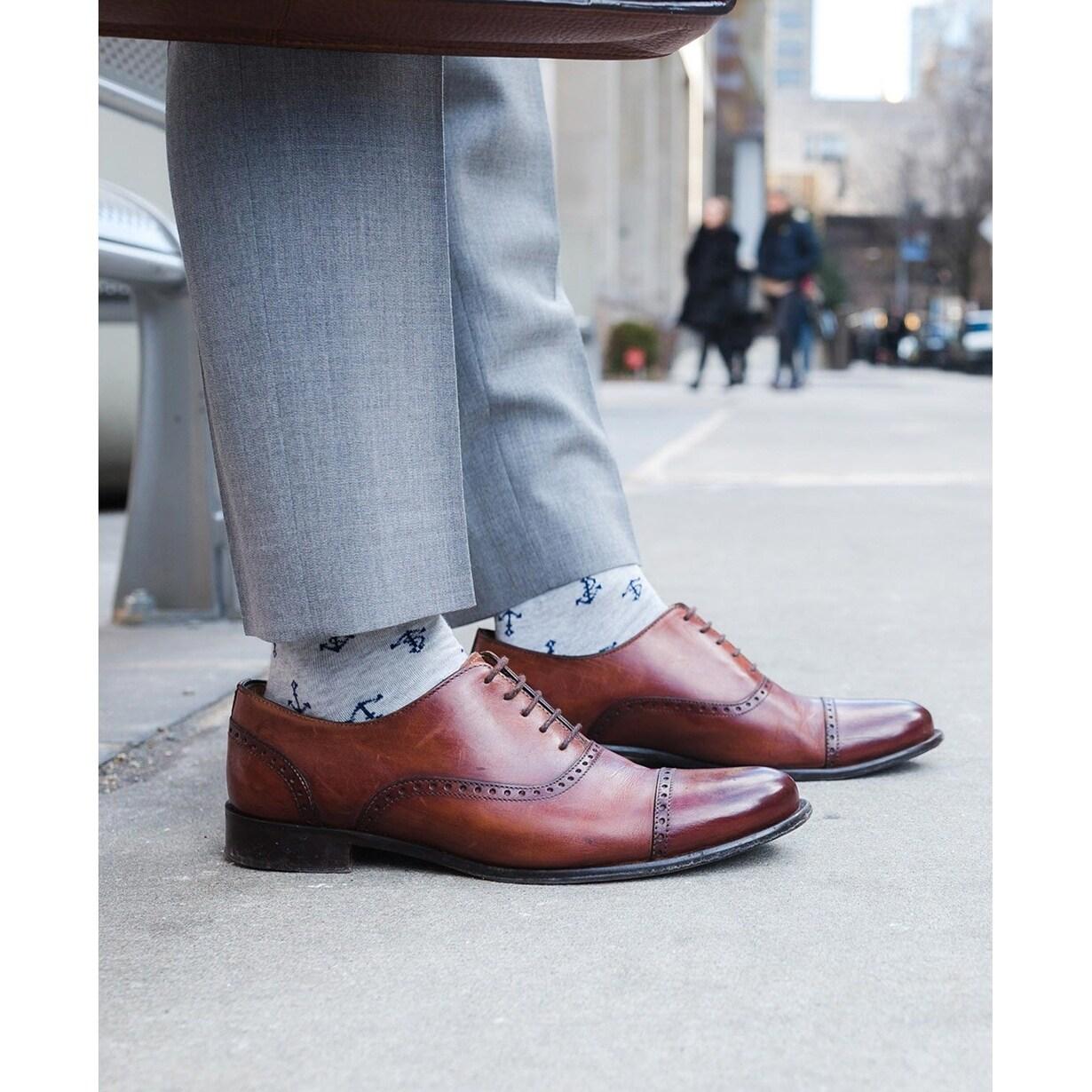 Nautica Mens Tie Socks Set Pocket Square
