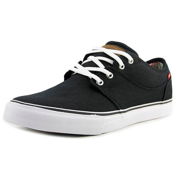 Globe Mahalo Men Round Toe Canvas Black Skate Shoe