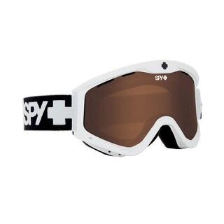 Spy Optic 310809632069 Targa3 T3 Snow Ski Goggles White Bronze