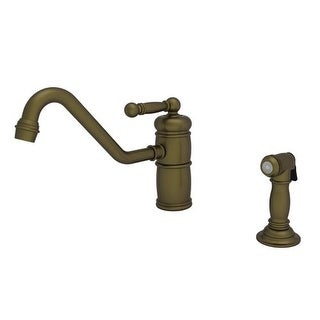 Newport Brass 941 Nadya Single Handle Kitchen Faucet with Sidespray