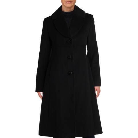 Jones New York Womens Walker Coat Winter Wool