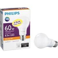 Philips Lighting Co 4Pk 8.5W A19 Led Sw Bulb 461129 Unit: EACH