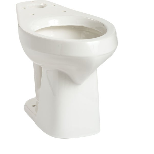 Mansfield 137 Alto Elongated Comfort Height Toilet Bowl Only - White