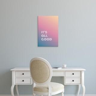 Easy Art Prints 'It's All Good II' Premium Canvas Art
