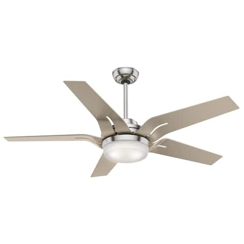 """Casablanca 56"""" Correne Ceiling Fan with LED Light Kit and Handheld Remote"""