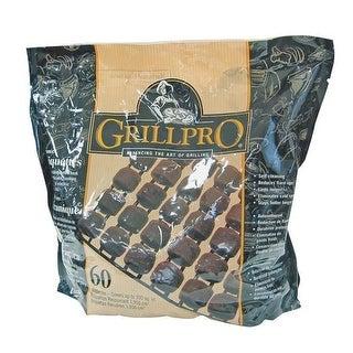 GrillPro 41071 Ceramic Briquettes, 60 Piece
