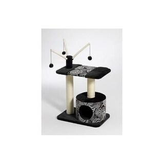 "Midwest Catitude Carnival Cat Furniture Black 27"" x 16.5"" x 37.5"""