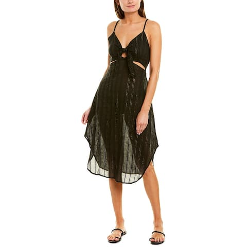 La Blanca Lurex Stripe Dress