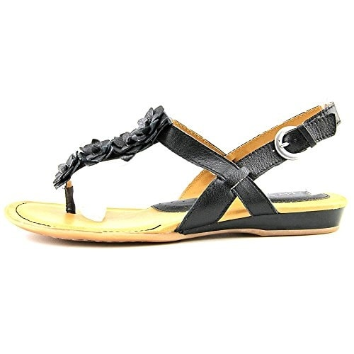 B.O.C Womens SONORAN Leather Split Toe Casual Slide Sandals