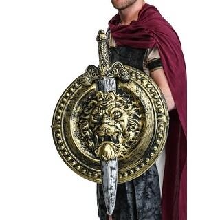 """20"""" Gladiator Shield W/ 29"""" Sword"""