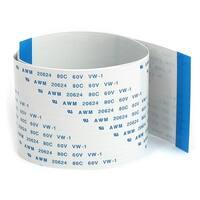Unique Bargains 2pcs 0.5mm Pitch 80 Terminals FPC FFC Flexible Ribbon Flat Cable Cord 40cm Long