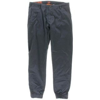 Dockers Mens Athletic Fit Twill Jogger Pants