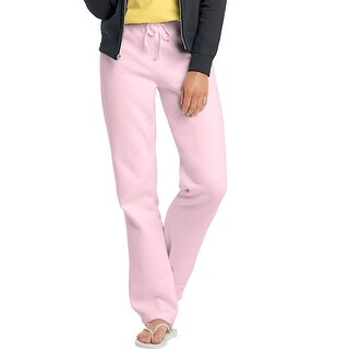 Hanes EcoSmart® Cotton-Rich Women's Drawstring Sweatpants - Size - 3XL - Color - Pale Pink
