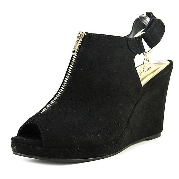 Thalia Sodi Womens Telma Peep Toe Slingback Mules - 5.5