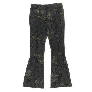 Marni Womens Virgin Wool Floral Print Dress Pants - 44