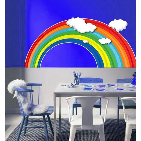 Nursery Rainbow Wall Decal, Rainbow Sticker