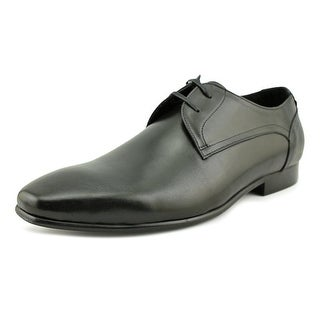 Aldo Jivin Men  Square Toe Leather Black Oxford