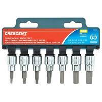 "Crescent CBSS0 SAE Hex Bit Socket Set, 3/8"""