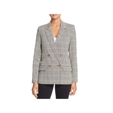Vero Moda Womens Laja Double-Breasted Blazer Suit Separate Professional - 40