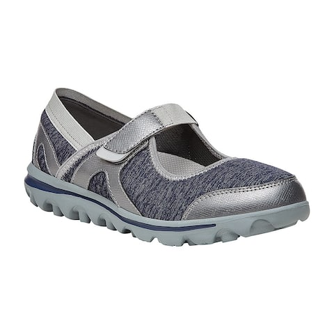 Propet Onalee Mary Jane Flats Womens Flats Casual - Blue