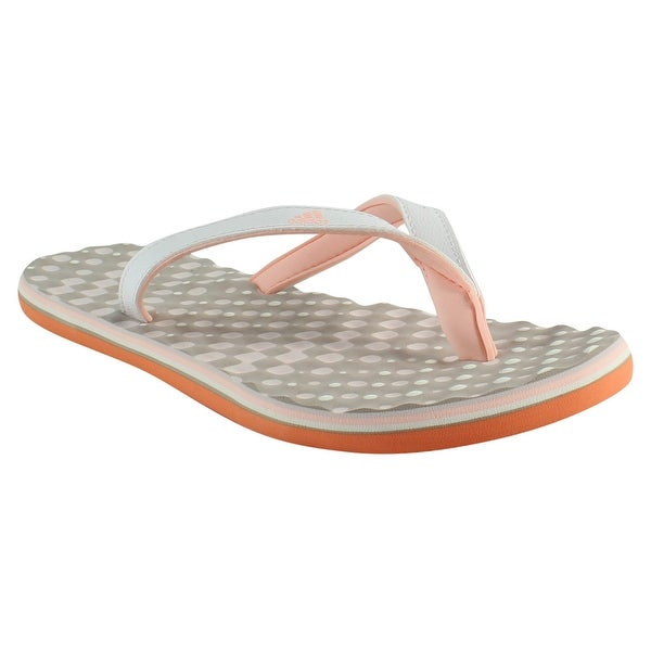 4935752c04d9bc Shop Adidas Womens By2452 White Slides Size 5 - Free Shipping On ...