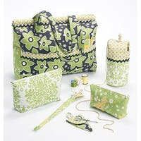 *SEWING PATTERN* Project Tote, Organizer/Knitting Needle/Scissor Cases And Ya-One Size Only