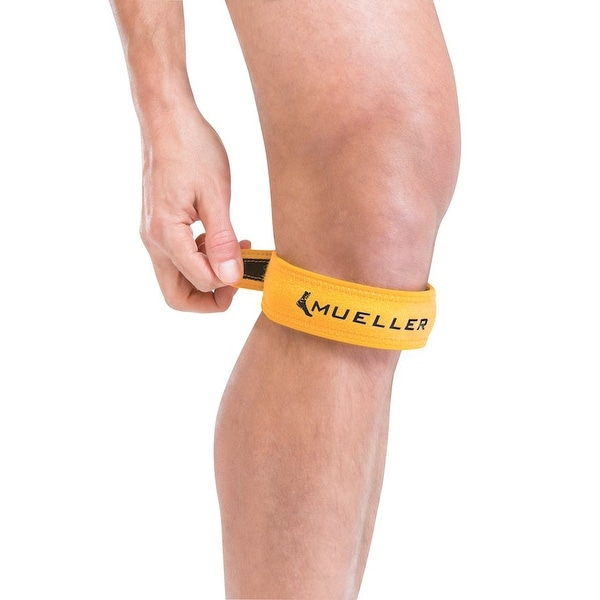 bead16d85a Shop Mueller Jumper's Knee Strap - Gold - Free Shipping On Orders Over $45  - Overstock - 16427257