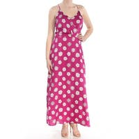 VINCE CAMUTO Womens Purple Floral Sleeveless Maxi Evening Dress  Size: M