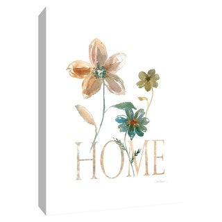 "PTM Images 9-148509  PTM Canvas Collection 10"" x 8"" - ""Simple Home"" Giclee Flowers Art Print on Canvas"