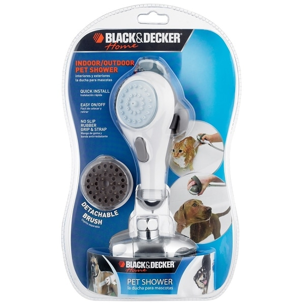 Black & Decker 016-PS0W All Purpose Indoor & Outdoor Pet Shower