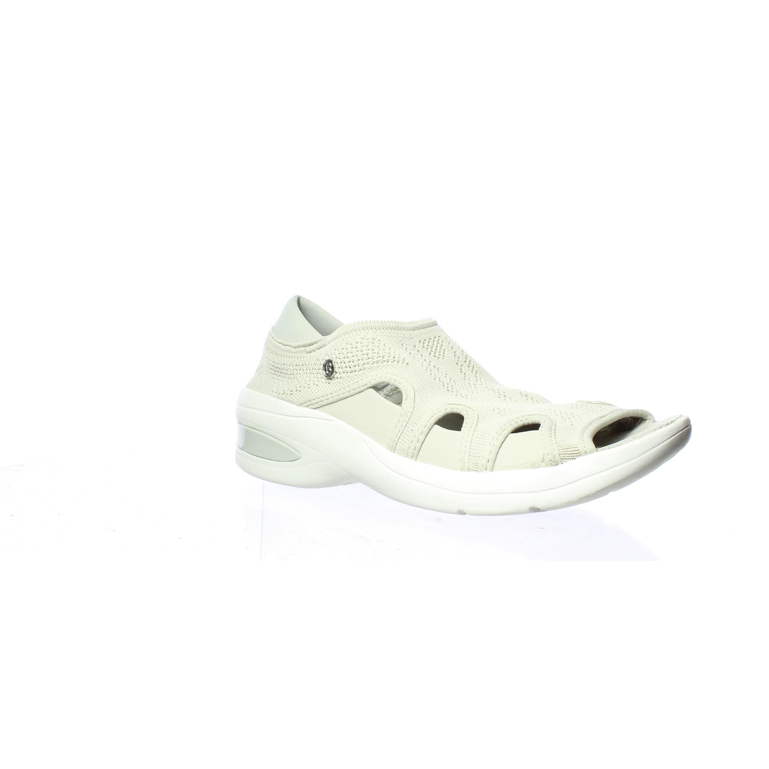 Bzees Womens Resort Beige Sandals Size 6.5