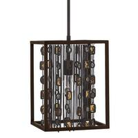 Fredrick Ramond FR32547 1-Light Mini Pendant from the Mercato Collection - anchor bronze