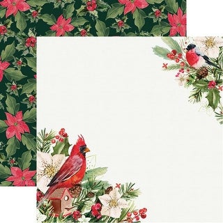 """Rejoicing - Peace & Joy Double-Sided Cardstock 12""""X12"""" - 10/Pack"""