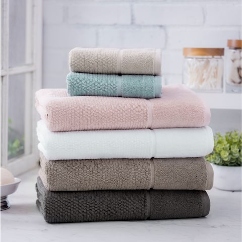 Porch & Den Loney Ultra Plush Turkish Cotton 6-Piece Towel Set