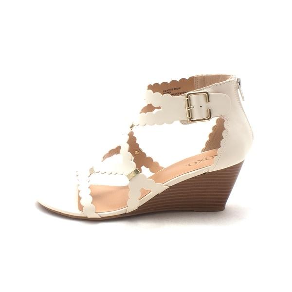 Shop Xoxo Womens Scottie Open Toe Casual Strappy Sandals -5538