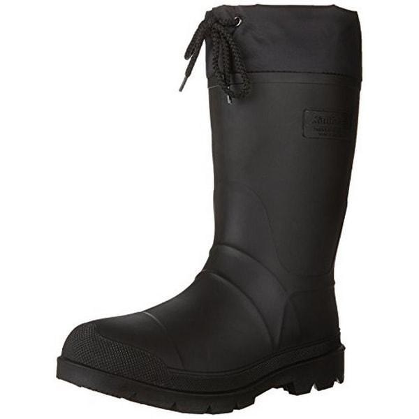Kamik Men's Hunter Insulated Winter Boot, Black, 8
