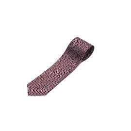 Versace Collection Men Slim Silk Neck Tie B0636 Red Black
