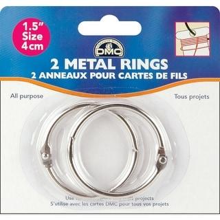 "Metal Rings 1.5""-2/Pkg"