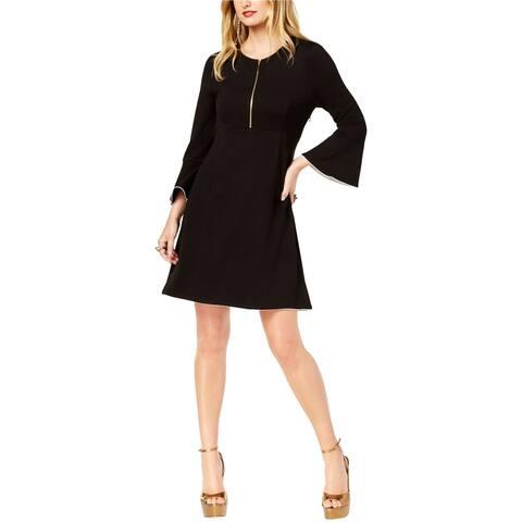 Rachel Zoe Womens Bell Sleeve Mini Dress