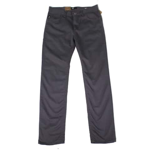 Vans Boys Pants Gray Size 29X30 Straight Leg Mid-Rise Standard-Fit