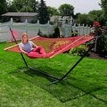 Sunnydaze Caribbean XL Rope Hammock with Spreader Bars - Multiple Colors Availab - Thumbnail 35