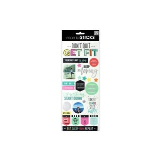 MAMBI Sticker Specialty Get Fit
