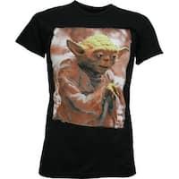 Star Wars Yoda Photo Slim Fit T-Shirt