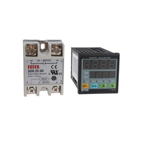 PID Temperature Controller+SSR-25DA
