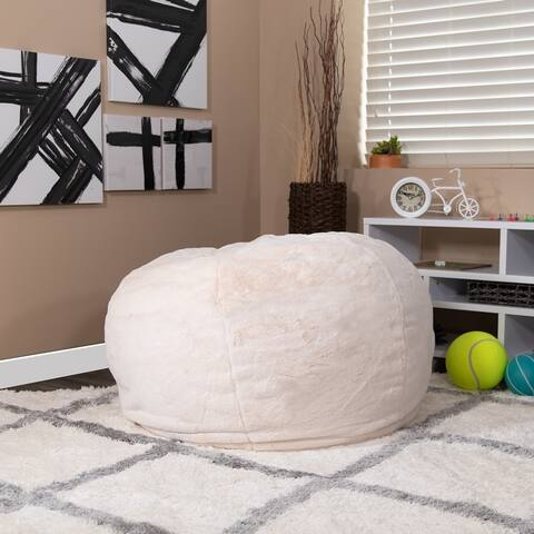 Oversized Refillable Bean Bag Chair for Kids and Adults