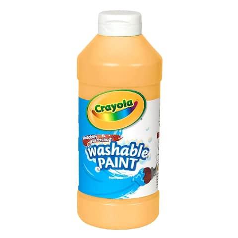 Crayola Washable Paint 16 Oz Peach