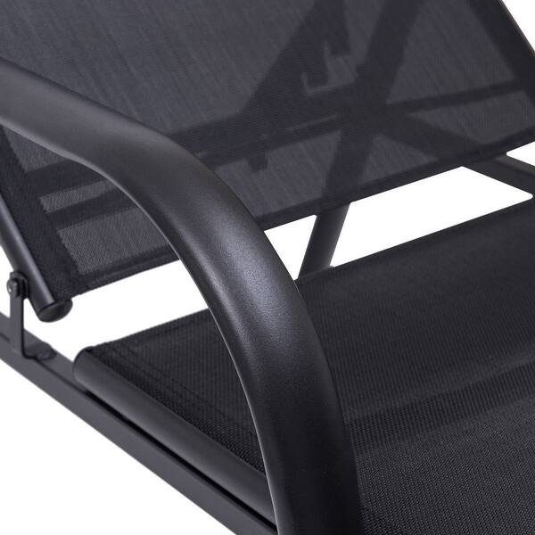 Goplus Outdoor Patio Chaise Lounge