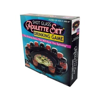 Bulk Buys UU492-4 Roulette Drinking Game, 4 Piece