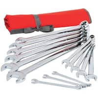 Crescent CCWS4 SAE Combination Wrench Set, 14 Piece