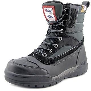 Pajar Bane Men Round Toe Leather Winter Boot